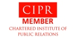 Membership Logo of the Chartered Institute of Public Relations
