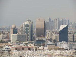 Deira Skyline showing Etisalat Head Office